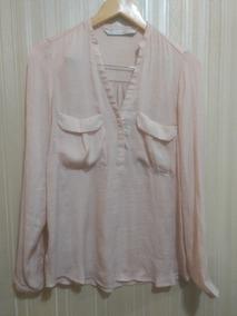 f9f61f3f0 Blusa Zara - Blusas de Mujer Rosa claro en Mercado Libre Argentina