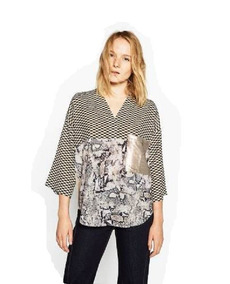 57945368c Zara Blusa - Blusas de Mujer 3/4 en Mercado Libre Argentina