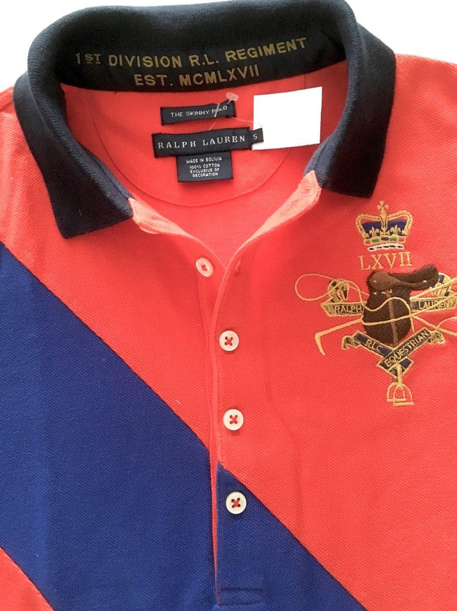 6189df91123 blusa camisa polo ralph lauren skinny nova orig promoção. Carregando zoom.