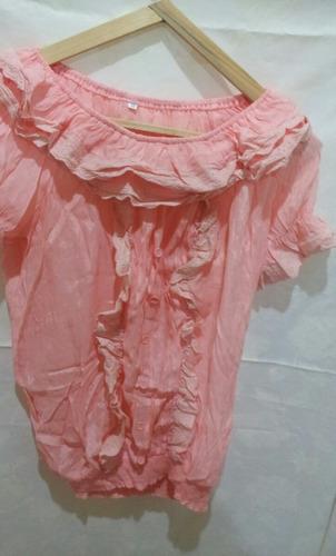 blusa/camisola de algodon talle m