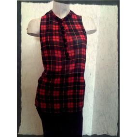 88cfb86f5b702 Camisa Roja Y Negra A Cuadros Camisas Chombas Blusas - Ropa y ...