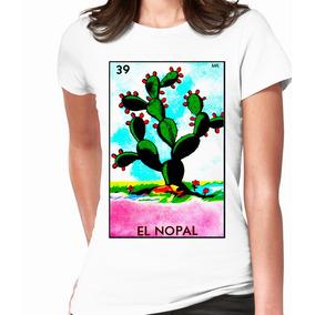 73d6826d5e077 Blusas Cleen Alexer Loteria El Nopal Mexicano Mod 37