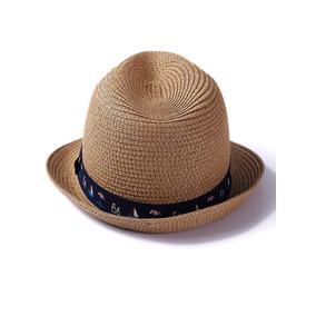 3c629ec680266 Sombrero De Paja De Niños Con Banda Con Estampado Mixto
