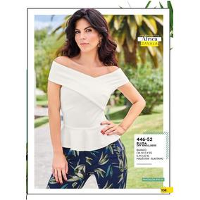 38eddfb1a551f Blusas Klass Dama Class - Blusas de Mujer Blanco en Mercado Libre México