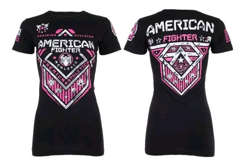 مؤقت انتقال الرد بالمثل Camisas American Fighter Para Mujer Psidiagnosticins Com