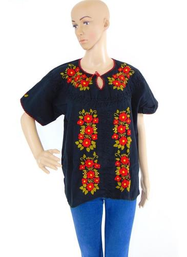 blusas artesanales bordadas