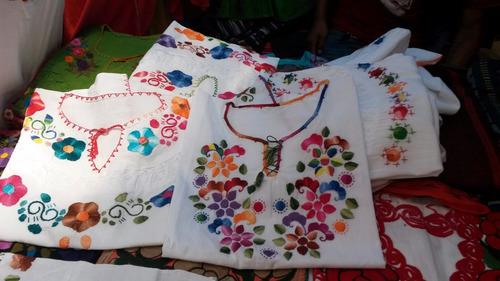 blusas artesanales bordadas a mano típicas de chiapas