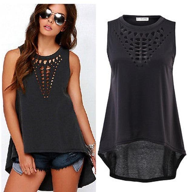 0ba2c7cfb403 Blusas Camisas Mujer Elegantes Casual Moda Juvenil Importada ...