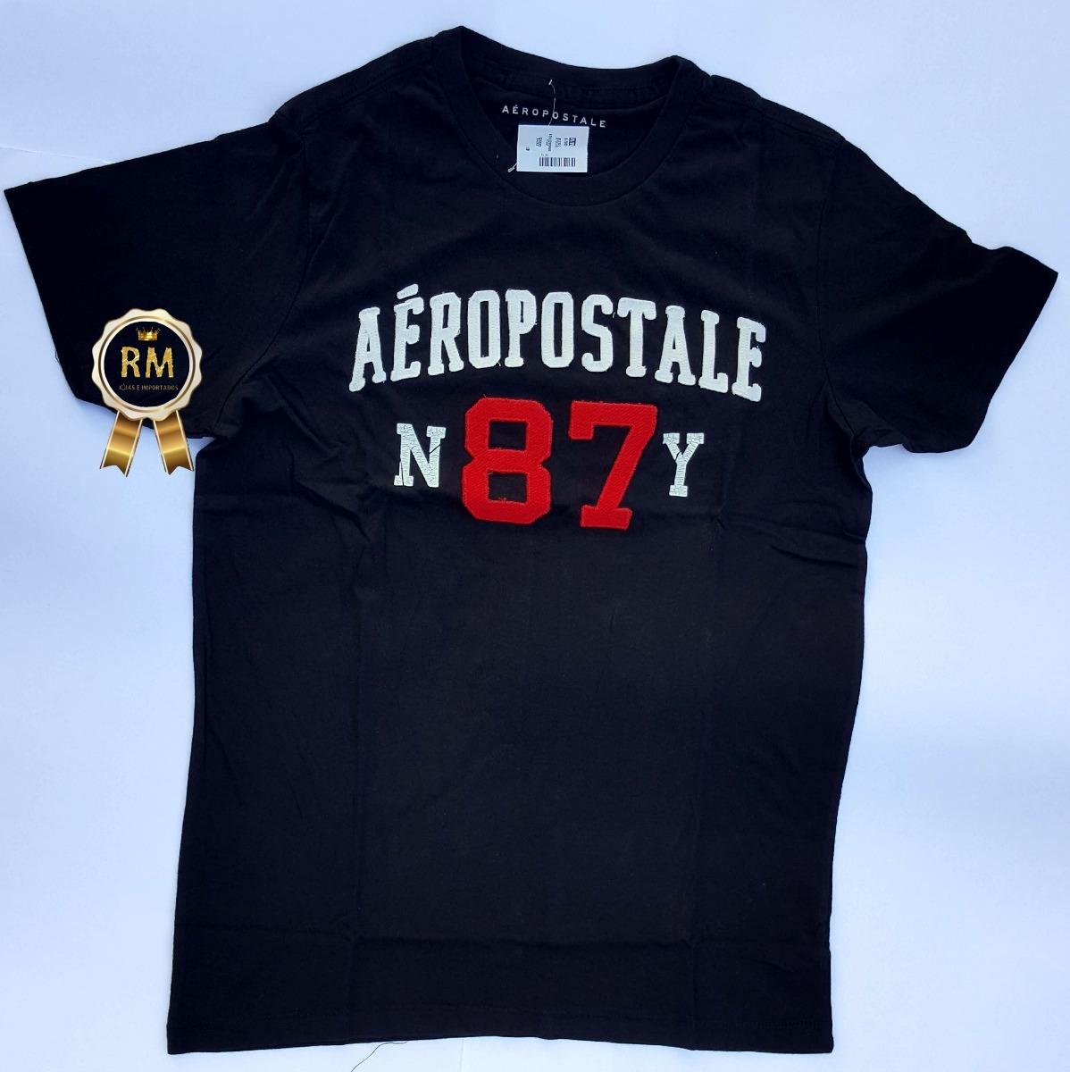 2d70995cc6a3d blusas camiseta camisa aeropostale original pronta entrega. Carregando zoom.