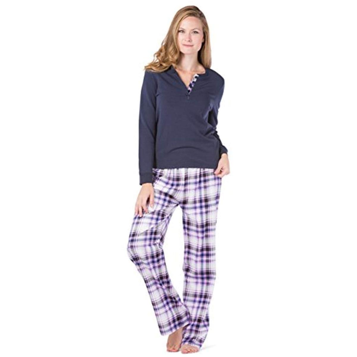 714d1c804 Blusas Conjunto De Pijama Para Mujer Fishers -   331.533 en Mercado ...