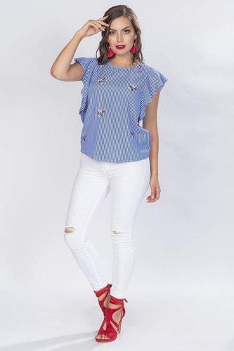 blusas dama casuales moda mujer