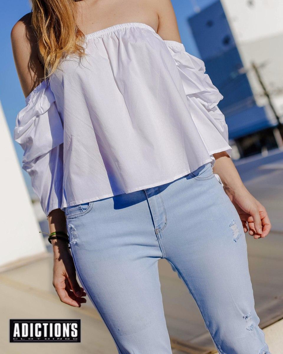 f6933d5de9 blusas dama hombros libres estilo campesina al mayor y detal. Cargando zoom.