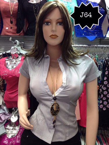 blusas dama importadas camisas dama oficina casual elegantes