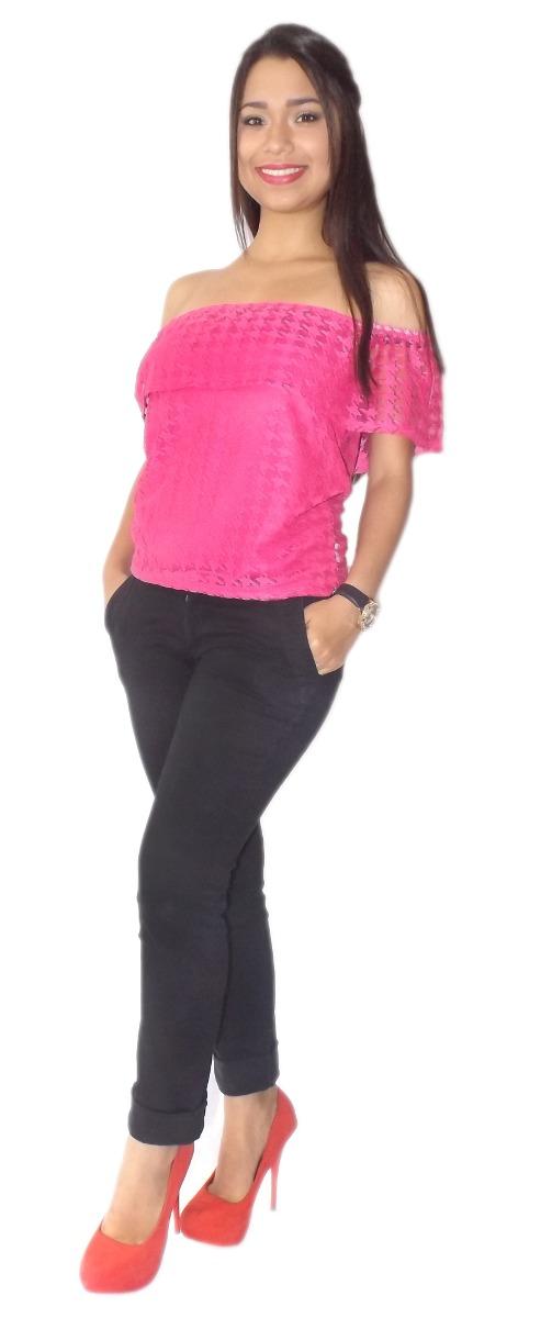 Blusas Dama Llanerita Blusones Vestidos Trendy Clic Bz - Bs. 7.499 ...