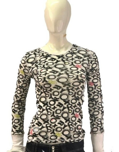 blusas dama manga larga modelo letras importados  mayoreo