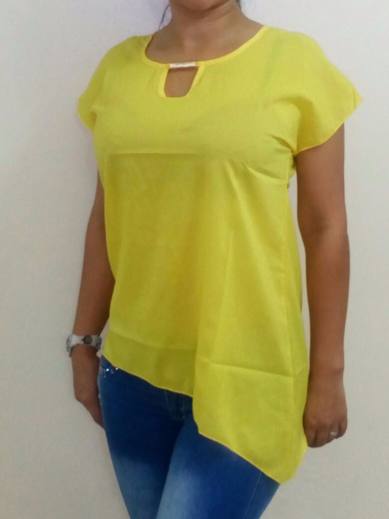 blusas modernas chifon gasa blusas 2014 moda europea op4