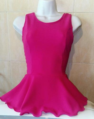 blusas de damas peplum todas las tallas al mayor y detal