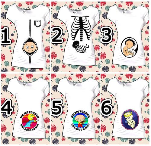 blusas de embarazo divertidas maternidad goku simsoms y mas