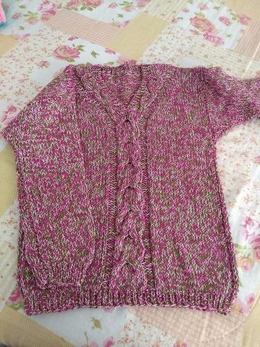 blusas de tricô feitas á mão lã, linha, frio inverno 2018