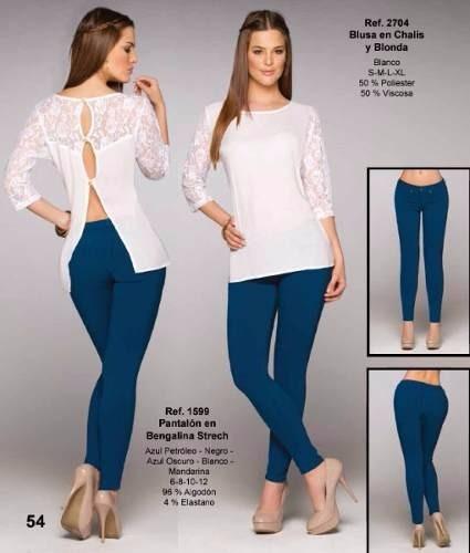 9eec327a03bc3 Blusas Elegantes En Chifon Stres Y Chifon Transp Xs S M L - Bs. 0
