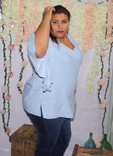 blusas en talles grandes