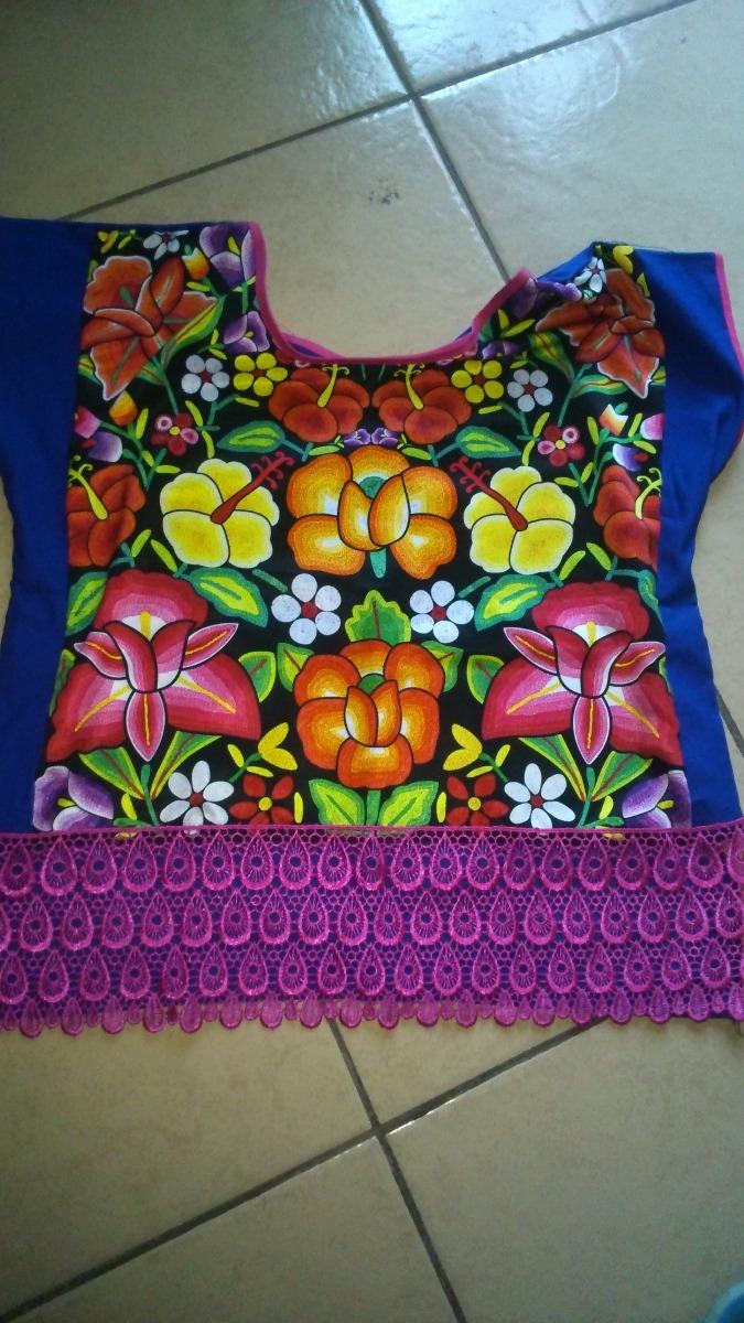 Blusas Estampadas Con Flores Istmenas 350 00 En Mercado Libre