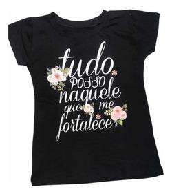 afe378cbf031 T Shirt Feminina - Camisetas e Blusas Femininas com o Melhores Preços no  Mercado Livre Brasil