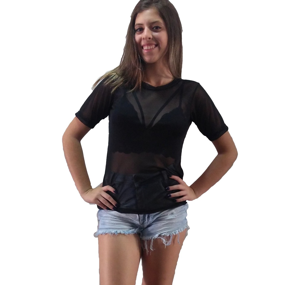 4ab96e13c02f04 Insaei Atacado & Varejo: Blusas Femininas Atacado Kit 10 Camisas ...