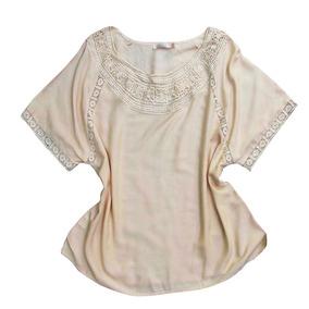 0378031296 Blusa Viscose Branca - Calçados