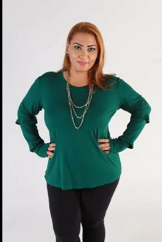 aff424d2819c Blusas Femininas Plus Size Rupas Femininas Tamanhos Grandes - R$ 375 ...