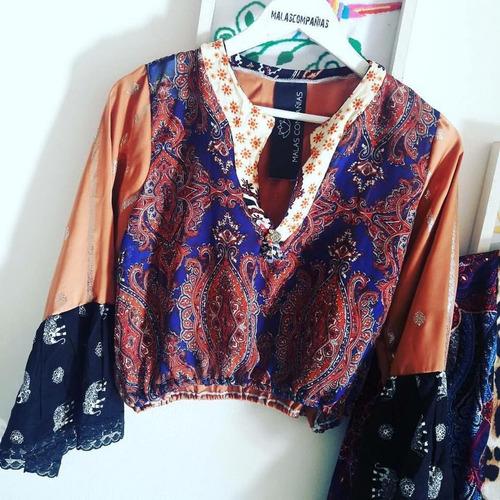 blusas hechas a mano