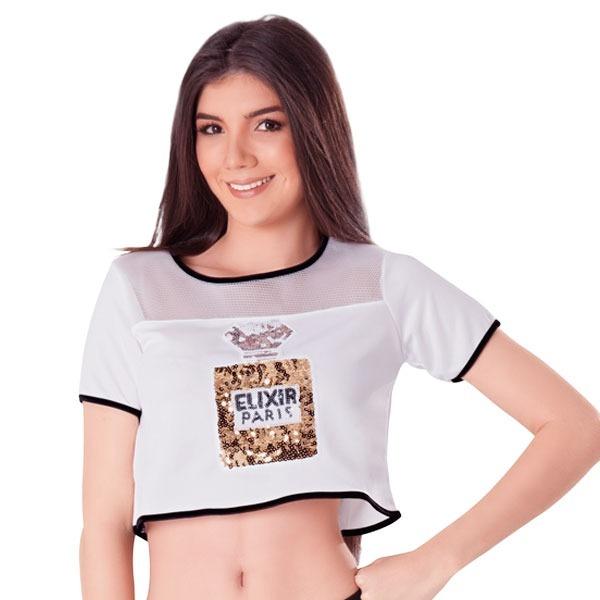 6c77a07d3 Blusas Juveniles Chic Manga Corta Con Estampado Didijin - Bs. 31.320 ...