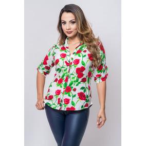 e13ff41e9803c Espectaculares Blusas Para Dama Estampadas - Ropa y Accesorios en ...