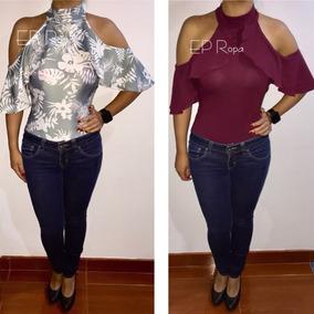 4b7666910d Enterizos Ajustados Mujer - Blusas para Mujer en Mercado Libre Colombia
