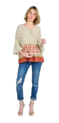 blusas mujer aishop manga larga