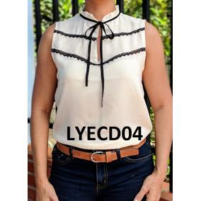 be9acd21833d3 Blusas Chifon A Rayas - Blusas de Mujer en Mercado Libre Venezuela