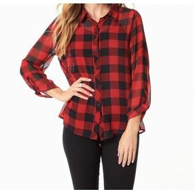 bc5684273a5b5 Blusas De Chambray Con Encaje - Blusas de Mujer en Mercado Libre ...