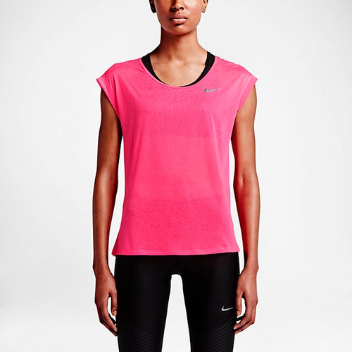 blusas nike para dama dri fit running - new