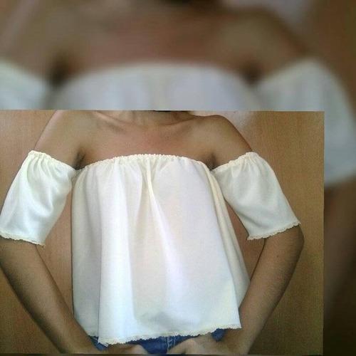 blusas offshoulder, campesinas mayor y detal