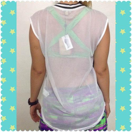 blusas para dama franelillas gym fitness deportiva camiseta