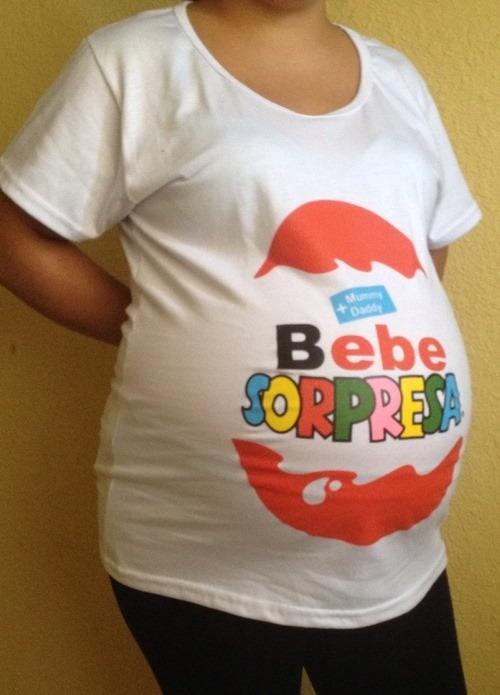 e1b756d7a Blusas Playeras De Maternidad Embarazo Embarazada Baby Showe ...
