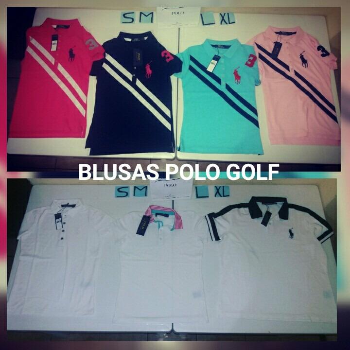 Blusas Polo Ralph Lauren Golf Originales - U S 35 6869e7d76a5de