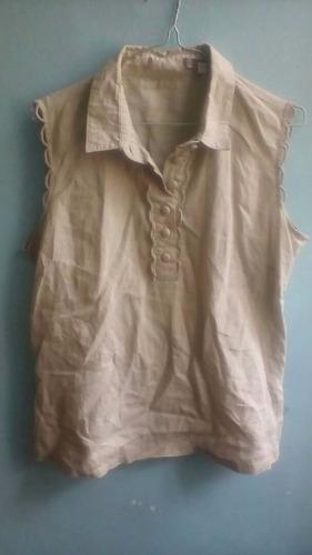 blusas sin mangas