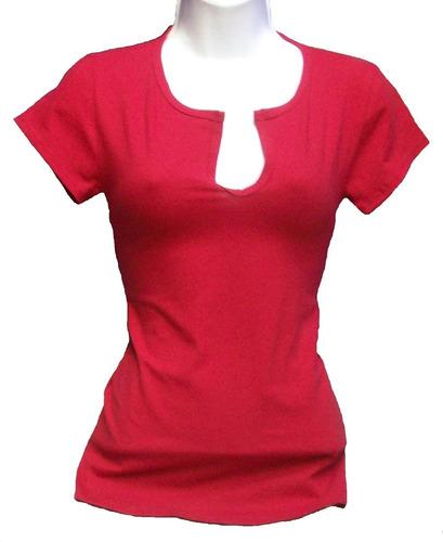 blusas tipo franela en cuello v y redondo de algodon peruano