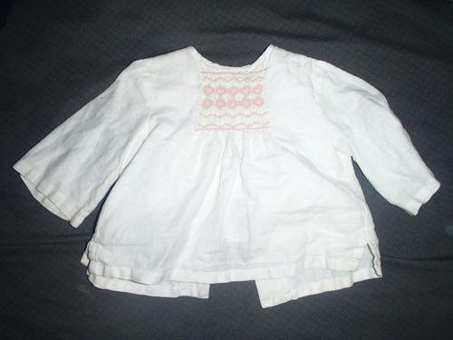 blusas vestido jeans  niña 9 , 12 , 18 meses carters oshkosh