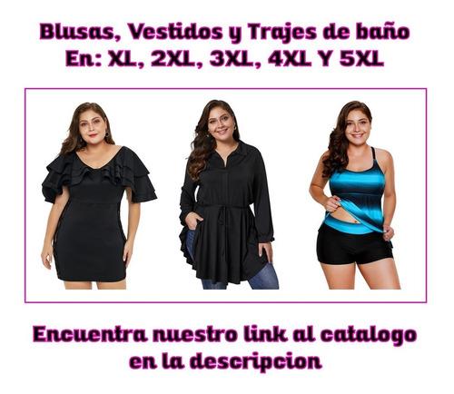 blusas vestidos ropa para gorditas tallas extra 214