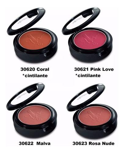 blush compacto yes cosmetics make.up 2,9g promoção.
