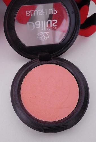 blush up dailus salmão efeito natural  ideal peles claras