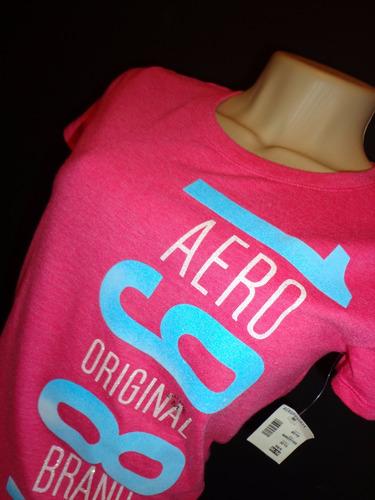 blusinha baby look feminino aeropostale rosa tam m camiseta