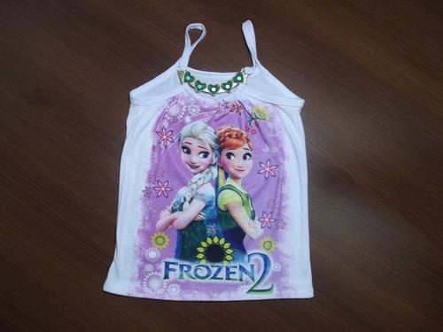 blusinha infantil enfeite coração personagens princesa